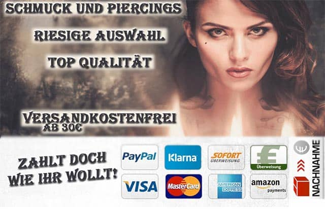 DarkDragon - Piercings, Keltischer Schmuck, Gothic Schmuck Shop