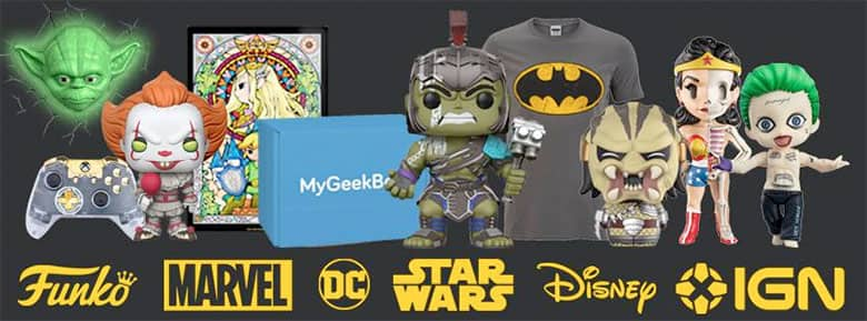 My Geek Box, der Onlineshop für Geek Produkte