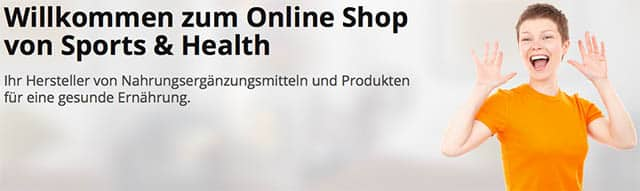 Sports & Health Online Shop
